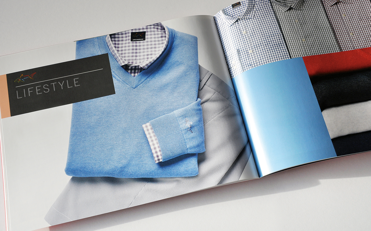 Greg Norman Collection Spring 2015 Sales Catalog